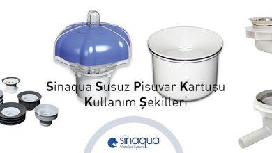 Sinaqua Susuz Pisuvar Kartuşu Kullanım Şekilleri