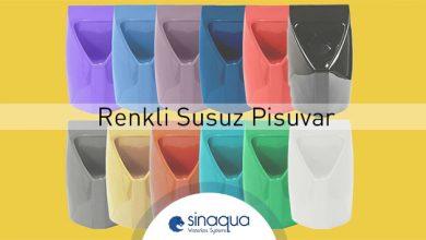 Renkli Susuz Pisuvar Modellerimiz